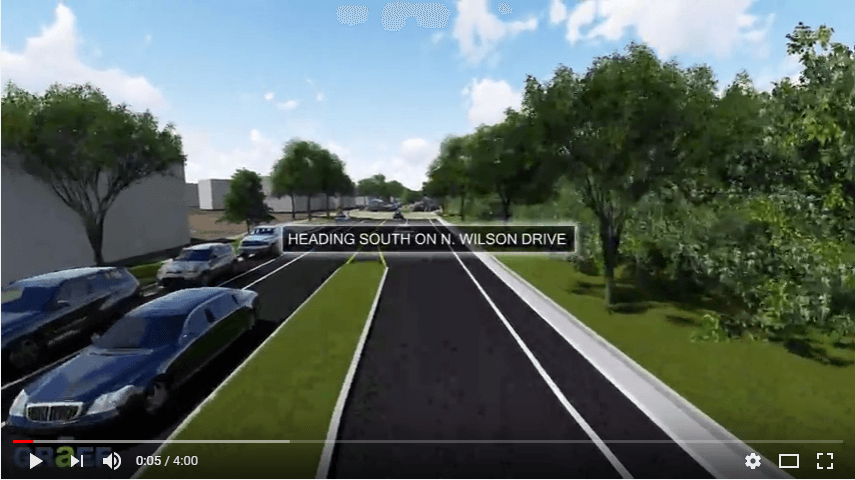 Virtual Drive-Through of North Wilson Drive
