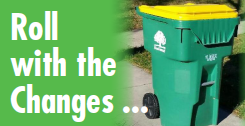 Roll with the Changes Banner: Exciting News about Recycling