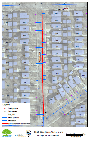 2019 Woodburn Watermain Relay Project Area (JPEG)