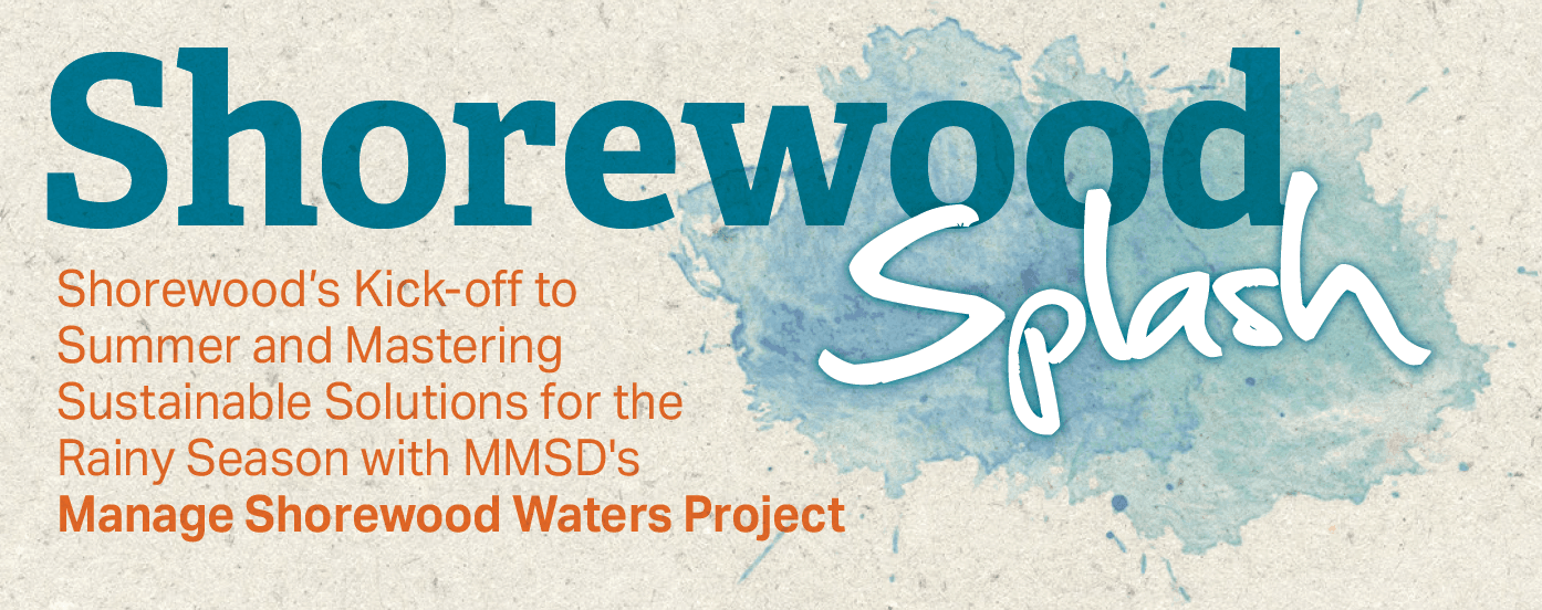 Shorewood Splash graphic
