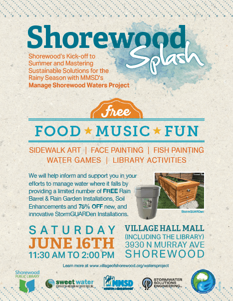 shorewood splash flyer