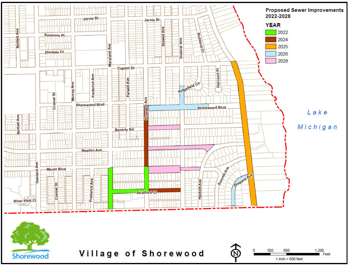 Final Proposed Sewer Improvements 2022 to 2028 (JPEG)