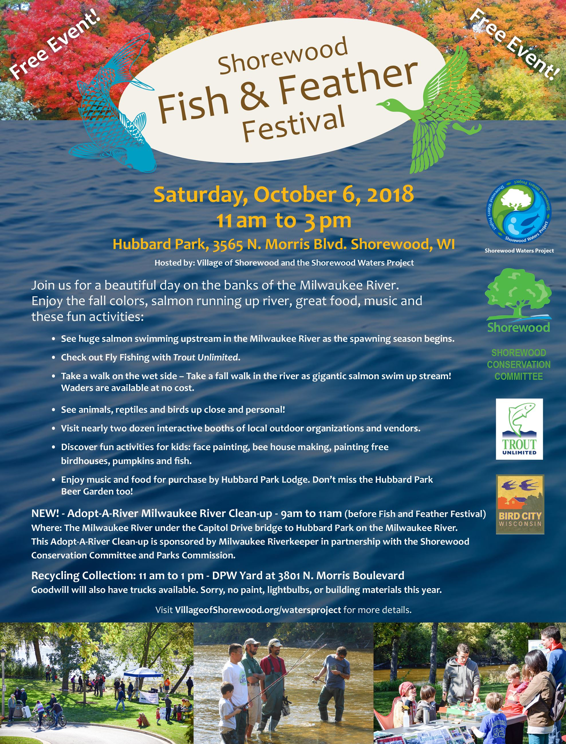 Fish and Feather Festival 2018