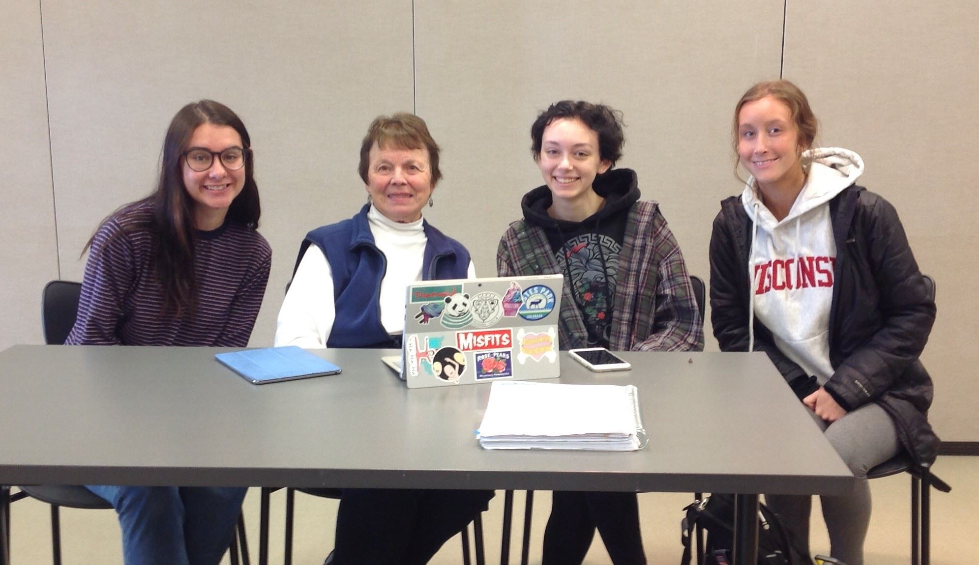 Gabrielle Ruder, Sandy paap, Shannon Wilding, Sydney elliot tech tutors
