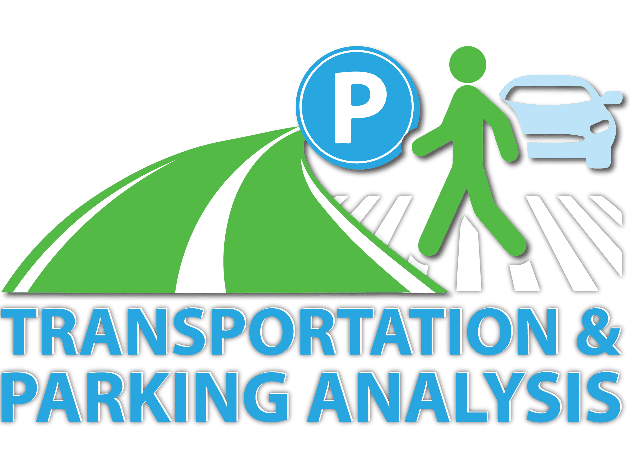 TRANSPORTATION PARKING ANALYSIS LOGO