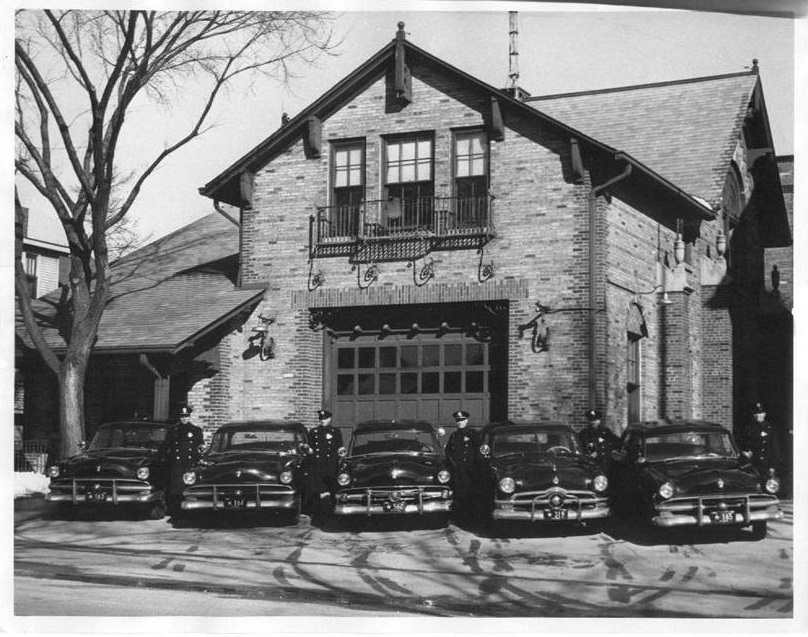 Shorewood Police Department Circa 1954