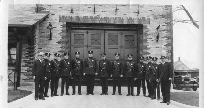 Officers Posing