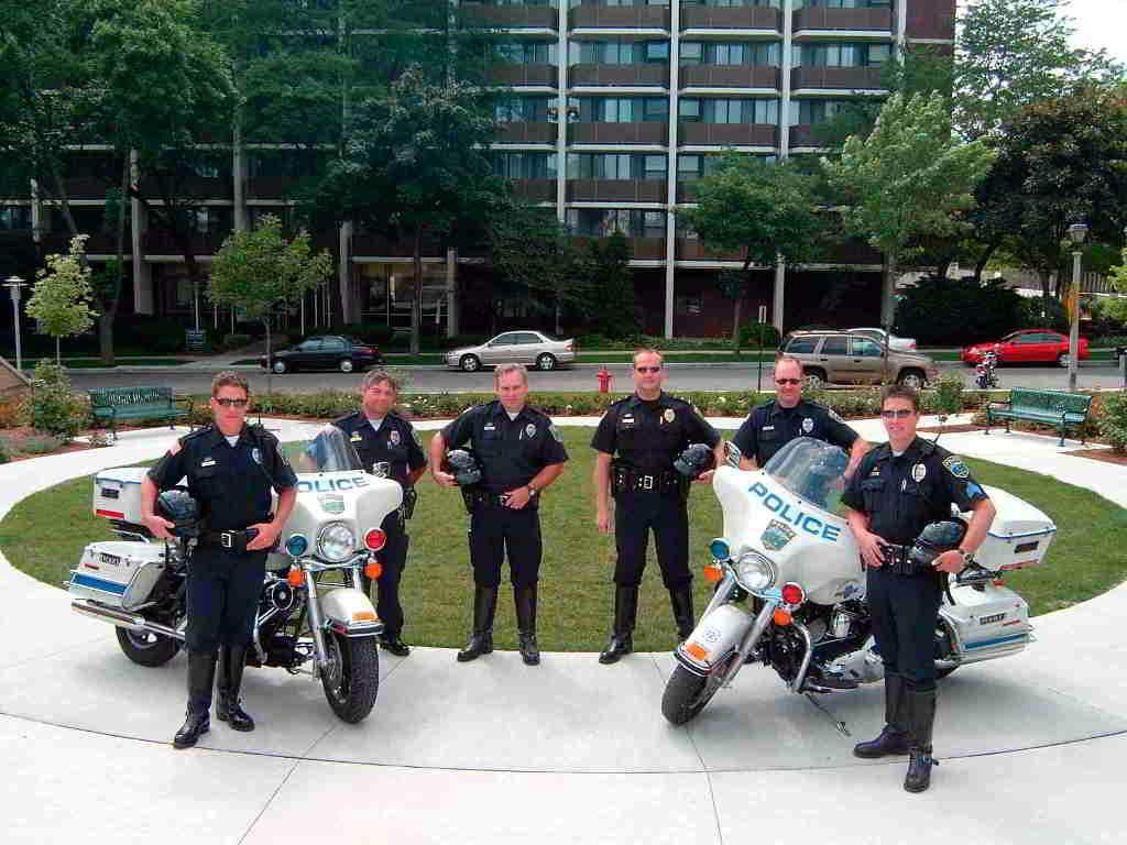 SPD Motor Patrol in 2004